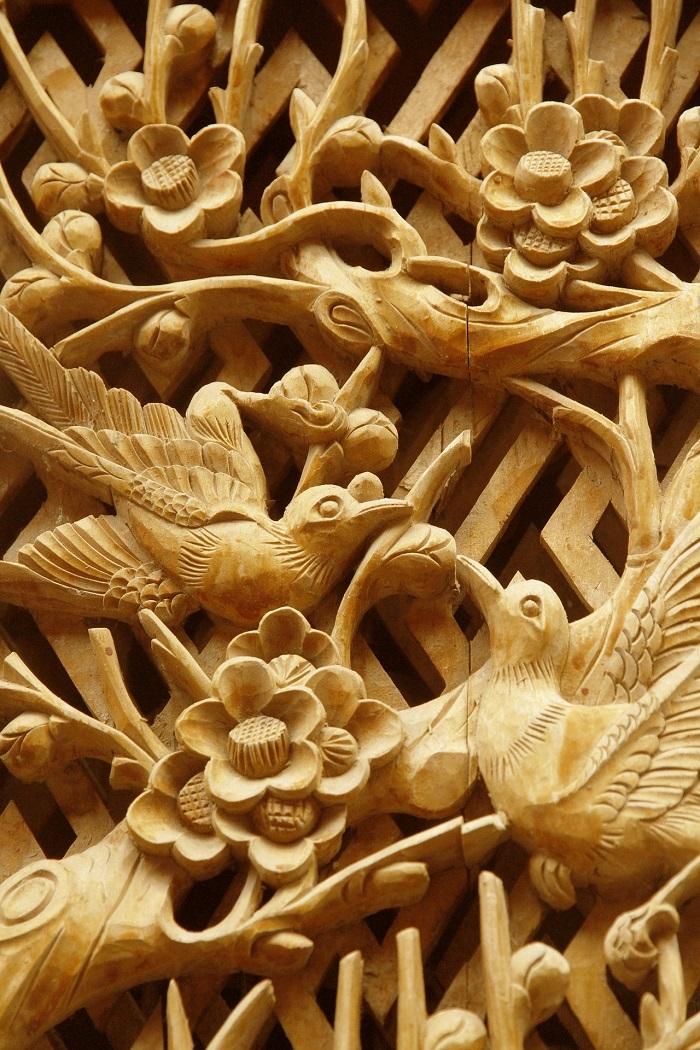 Nádherná drevorezba prírody